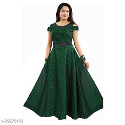 butti max green gown