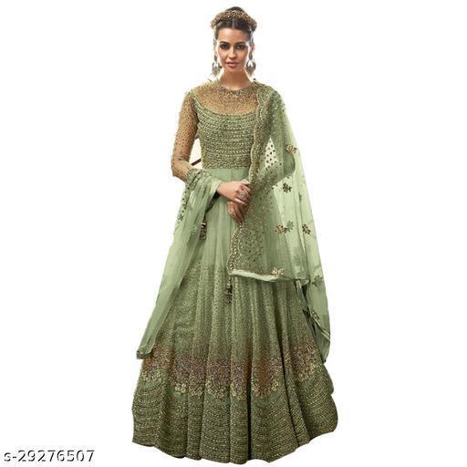 P.K FASHION BAZAR Designer Anakali Salwar Suit Gown For Womens And Girls