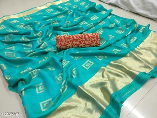 Fashion Sana Silk Women's Printed Saree