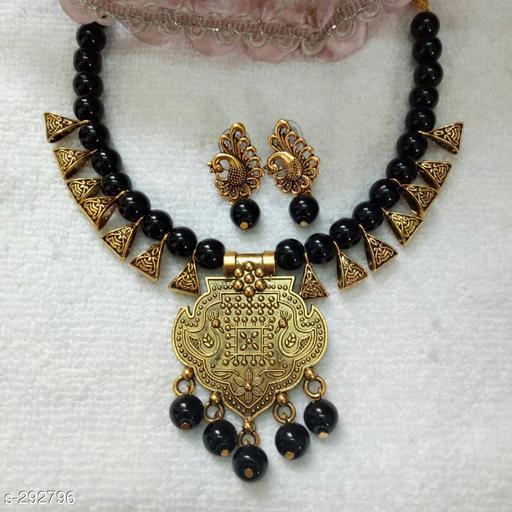Beautiful Copper & Brass Necklace Set