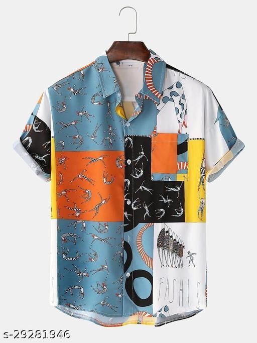 Karishma Digital Printed Cotton Linen Printed Shirt