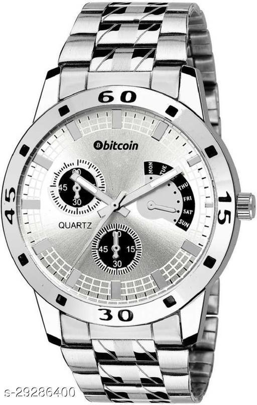 BITCOIN Wrist Watch For Men
