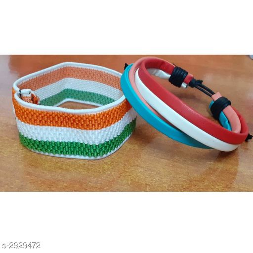 Jewellery Leather Wrist Bands (Pack Of 2)  *Material * Leather  *Size* Free Size  *Description* It Has 2 Pieces Of Wrist Band  *Sizes Available* Free Size *    Catalog Name: Handcrafted Leather Wrist Bands Combo Vol 2 CatalogID_399066 C65-SC1227 Code: 131-2929472-
