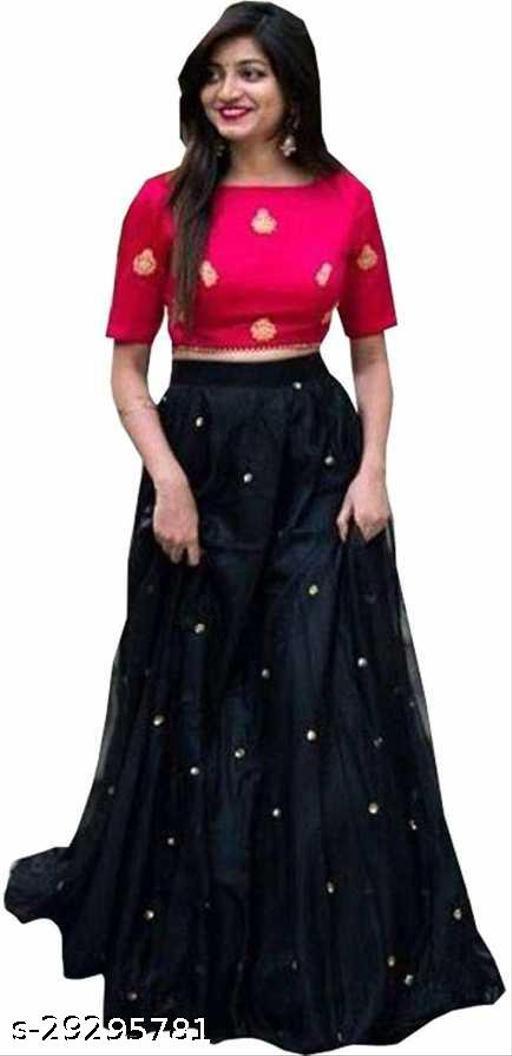 new fabulous embroidery work lehenga for woman