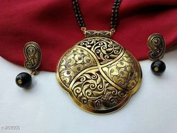 Stylish Brass & Copper Mangalsutras