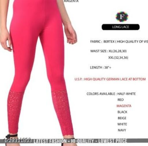 Long Lace leggings