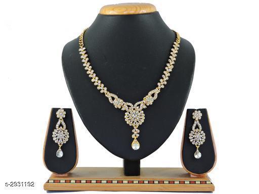 Chunky Alloy Women's Jewellery Set