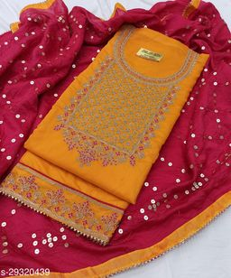 Aagyeyi Sensational Semi-Stitched Suits