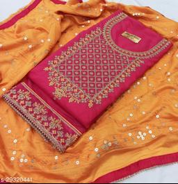 Adrika Fashionable Semi-Stitched Suits
