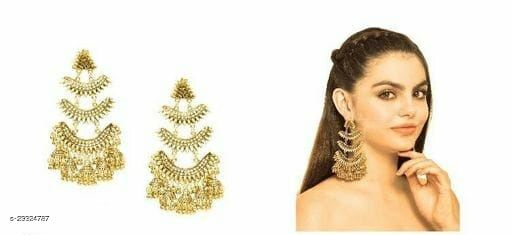 Desinger beautiful Fancy big earrings for women & girls