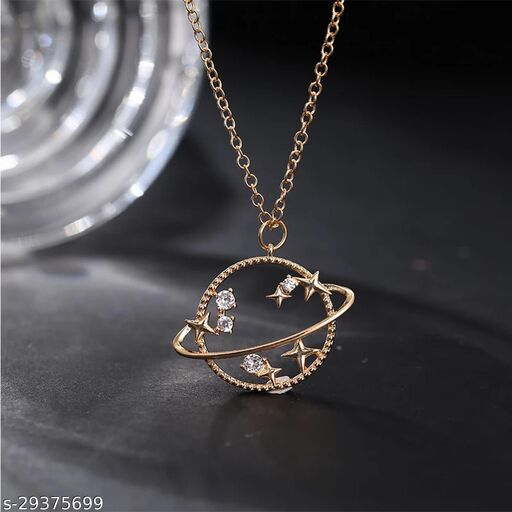 Cute Earth Necklace for Women and Girls