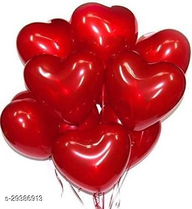 Life long Solid  Balloon  (Red, Pack of 50)