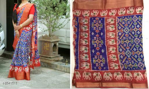Aamani Attractive Soft Cotton Women's Saree
