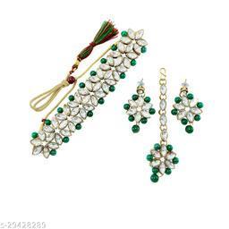 Beautiful Princess Choker Jewellery Set For Women