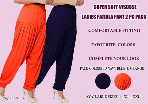Fabulous Viscose Women's Patiala Pant Combo