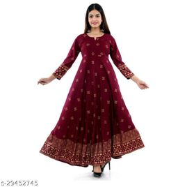 Festive and Ethnic Wear Maxi Dress