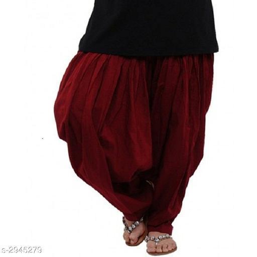 Stylish Women's Cotton Patiala Salwar