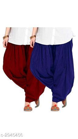 Stylish Women's Cotton Patiala Salwars Combo