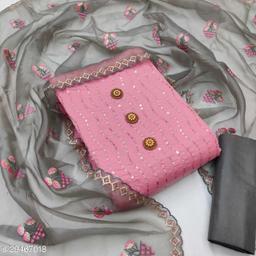 Mantra Semi Modal Exclusive Present Dress Material & Salwar Suit  For Women
