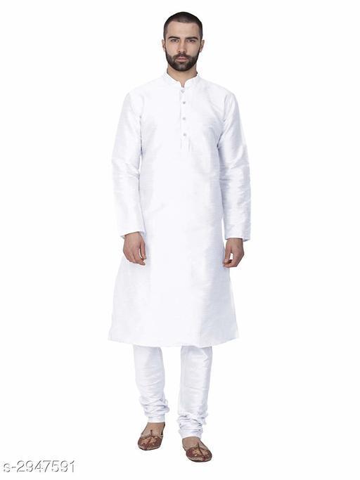 Kurta Sets Fancy Cotton Blend Men's Kurta Set  *Fabric* Kurta - Cotton Blend, Pyjama - Cotton Blend  *aFabric* Kurta - Cotton Blend, Pyjama - Cotton Blend  *Sleeves* Full Sleeves Are Included  *Size* Kurta - Chest - S, M, L, XL, XXL (Refer Size Chart For Details),   Pyjama - Waist - S, M, L, XL, XXL (Refer Size Chart For Details)  *Length* Kurta - Refer Size Chart, Pyjama - Up To 40 in  *Type* Stitched  *Description* It Has 1 Piece Of Men's Kurta & 1 Piece Of Pyjama  *Pattern* Solid  *Sleeves* Full Sleeves Are Included  *Size* Kurta - Chest - S, M, L, XL, XXL (Refer Size Chart For Details),   Pyjama - Waist - S, M, L, XL, XXL (Refer Size Chart For Details)  *Length* Kurta - Refer Size Chart, Pyjama - Up To 40 in  *Description* It Has 1 Piece Of Men's Kurta & 1 Piece Of Pyjama  *Pattern* Solid  *Sizes Available* S, M, L, XL, XXL *    Catalog Name: New Fancy Cotton Blend Men's Kurta Sets Vol 1 CatalogID_401730 C66-SC1201 Code: 266-2947591-