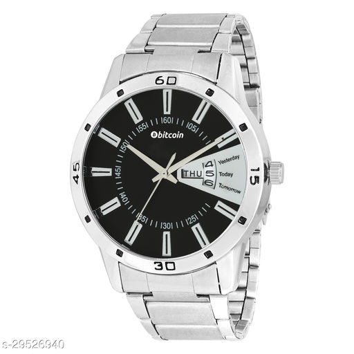 BITCOIN 71607CH Wrist Watch For Men With Day & Date Indicator