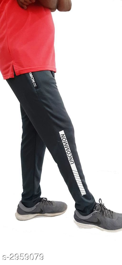 Stylish Micro Polyester Men's Track Pant