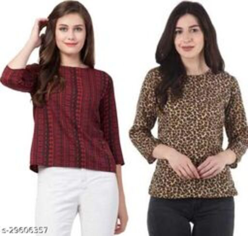 Classy Modern Women Tops & Tunics