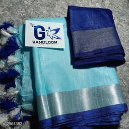 Ravishing Cotton Slub Women's Saree