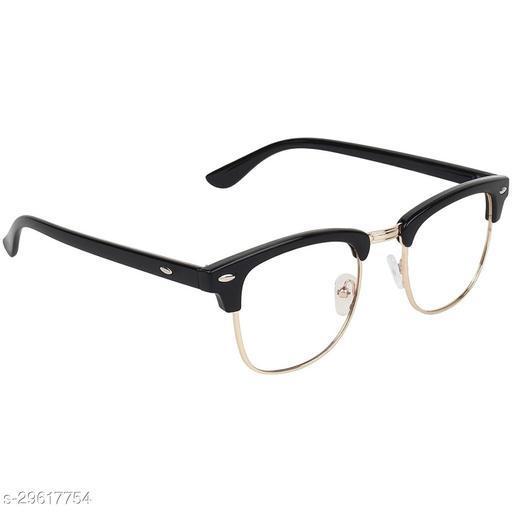 Unisex Rectangular Sunglasses