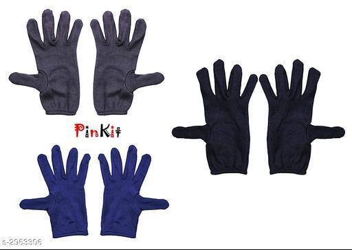 Trendy Unisex Multicolor Gloves
