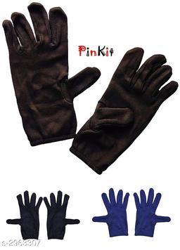 Trendy Unisex Multipack Multicolor Gloves