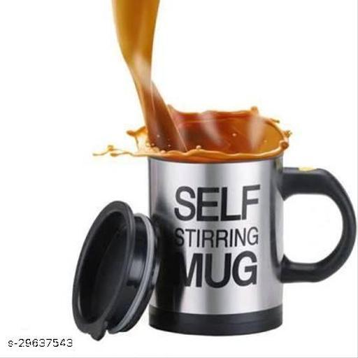 Tornado Coffee Cups Aluminium, Plastic Coffee Mug  (350 ml)