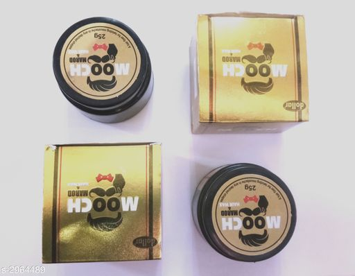 Hair Care  AGS Dollar  Hair Care Product (Pack Of 2)  *Product Name* AGS dollar mooch marod & hair wax  pack of two  *Brand Name* AGS Dollar  *Product Type* Hair Wax  *Capacity* 50 gm  *Package Contains* It Has 2 Pack Of  Hair Wax  *Sizes Available* Free Size *    Catalog Name:  AGS Dollar / Shagun Hair Care Product Vol 1 CatalogID_404191 C50-SC1249 Code: 881-2964489-