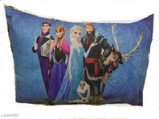 Stylish  Kids Velvet Printed  Pillow