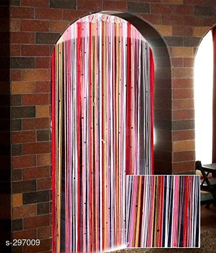 Curtains & Sheers Beautiful Polyester Door Curtain  *Material* Polyester 
