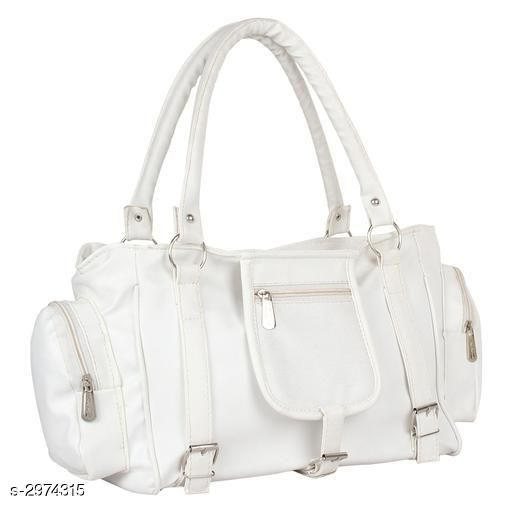 Stylish Women's White Handbag