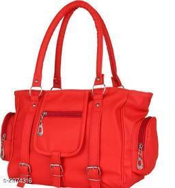 Unique Women's Red Handbag