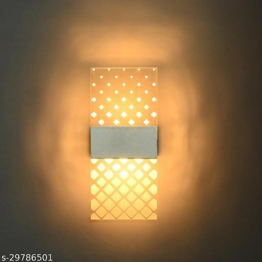 Afast 3D Illusion Unbrackable LED Wall Light/ Night Lamp, 7 Watt