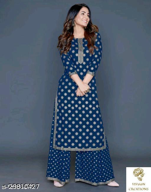 Aagyeyi Fashionable Women Kurta Sets
