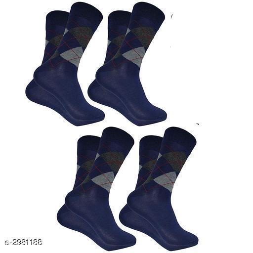 Elite Cotton Men's Socks Combo( Pack Of 4 )