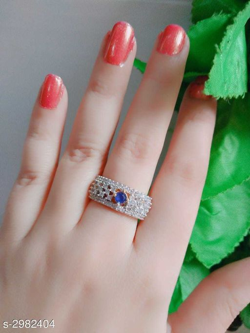 Women's Alloy Gold Plated Rings