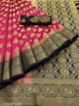 Aagam superior banarasi silk saree