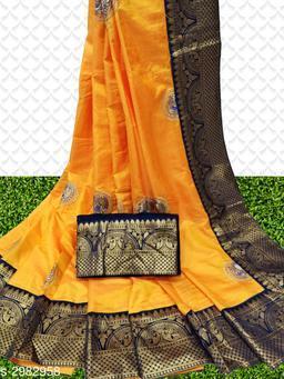Attractive Sana Silk Women's Sarees