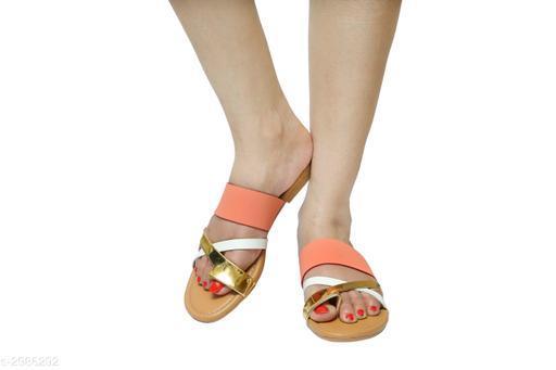 Flats Fancy Women's Flat Sandals   *Material* Upper Material  *IND Size* IND - 3, IND - 4, IND - 5, IND - 6, IND - 7  *Description* It Has 1 Pair Of Women's Flat Sandal  *Sizes Available* IND-3, IND-4, IND-5, IND-6, IND-7 *   Catalog Rating: ★3.8 (5)  Catalog Name: Fancy Women's Flat Sandals Vol 11 CatalogID_407507 C75-SC1071 Code: 723-2986292-999
