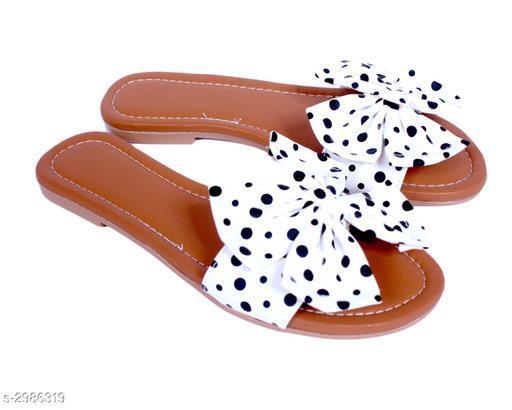 Flats Fancy Women's Flat Sandals   *Material* Upper Material  *IND Size* IND - 3, IND - 4, IND - 5, IND - 6, IND - 7  *Description* It Has 1 Pair Of Women's Flat Sandal  *Sizes Available* IND-3, IND-4, IND-5, IND-6, IND-7 *   Catalog Rating: ★4.5 (34)  Catalog Name: Fancy Women's Flat Sandals Vol 14 CatalogID_407515 C75-SC1071 Code: 353-2986319-999