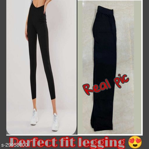 LF Collection Women's Regular Fit Leggings