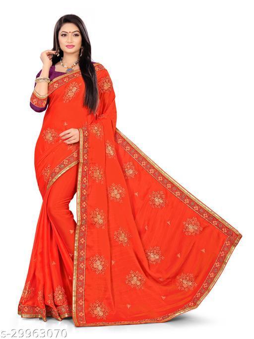 Georgatte saree for designer blouse
