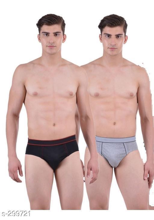 Comfy Cotton Men's Brief Pack Of 2