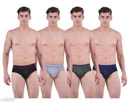 Comfy Cotton Men's Brief Pack Of 4