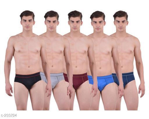 Comfy Cotton Men's Brief Pack Of 5